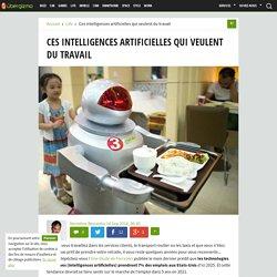 Ces intelligences artificielles qui veulent du travail - Ubergizmo France