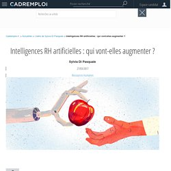 Intelligences RH artificielles : qui vont-elles augmenter ?