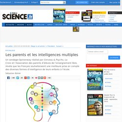 Les parents et les intelligences multiples