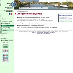 DSDEN du Val-de-Marne- Les intelligences multiples d'Howard Gardner