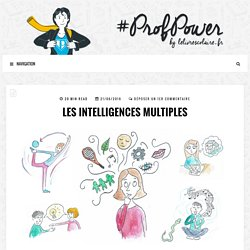 Les intelligences multiples - #PROFPOWER