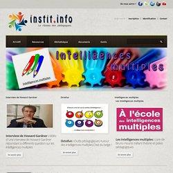 Coin Intelligences multiples - Une thématique pédagogique sur instit.info