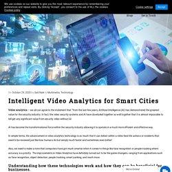 Intelligent Video Analytics for Smart Cities - Acuiti Labs