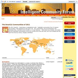 Intelligent Community Forum (ICF)