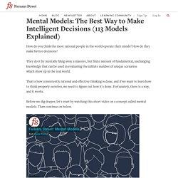 Best Mental Models: An Introduction