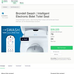 Intelligent Electronic Bidet Toilet Seat by Brondell Inc.