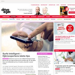Surfa intelligent – Hjärnexpertens bästa tips
