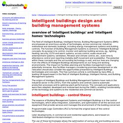Intelligent Building Technology