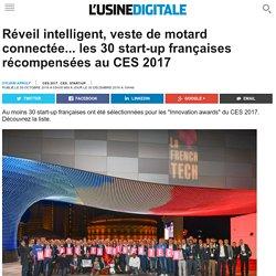 Réveil intelligent, veste de motard connectée... les 30 start-up françaises récompensées au CES 2017
