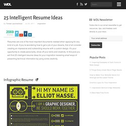 25 Intelligent Resume Ideas