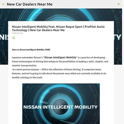 Nissan Intelligent Mobility Feat. Nissan Rogue Sport