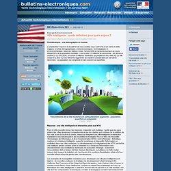 2013/03/08> BE Etats-Unis323> Ville Intelligente : quelle définition pour quels enjeux ?