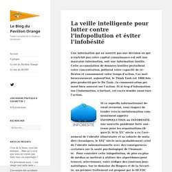 La veille intelligente pour lutter contre l'infopollution et éviter l'infobésité - Le Blog du Pavillon Orange