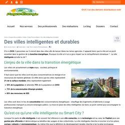 Des villes intelligentes et durables – Blog Pages-Energie