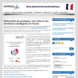 Référentiel de pratiques : les villes et les territoires intelligents en France
