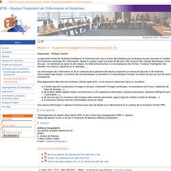 """Master """"Systèmes intelligents et communicants"""" - Equipes Traitement de l'Information et Systèmes"""