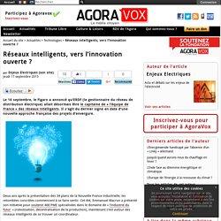 Réseaux intelligents, vers l'innovation ouverte