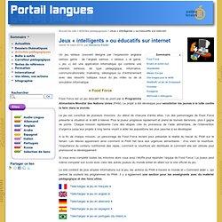 Jeux « intelligents » ou éducatifs sur internet