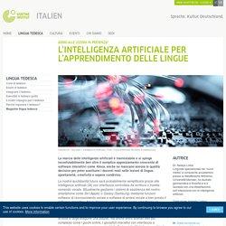L'intelligenza artificiale per l'apprendimento delle lingue - Addio alle lezioni in presenza?: Goethe-Institut Italien