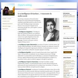Le 9 intelligenze di Gardner… 7 trascurate da molte scuole