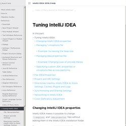 IntelliJ IDEA precise adjustments reference.