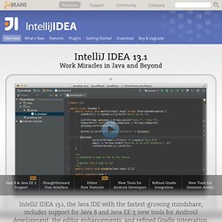 Java IDE--lIntelliJ IDEA.