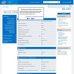 Core™2 Duo Processor E6550 (4M Cache, 2.33 GHz, 1333 MHz FSB)