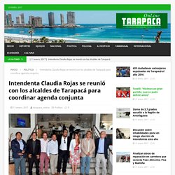 Intendenta Claudia Rojas se reunió con los alcaldes de Tarapacá para coordinar agenda conjunta – Tarapaca Online