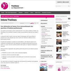 YVELINES - Intens'Yvelines : Une démarche en faveur d'un renouvellement des quartiers d'habitat pavillonnaire -08/03/16