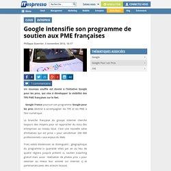 Google intensifie son programme de soutien aux PME françaises