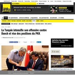 Dorothée Schmid : Pourquoi la Turquie bombarde-t-elle le PKK, sachant que le mouvement kurde combat également Daech ?