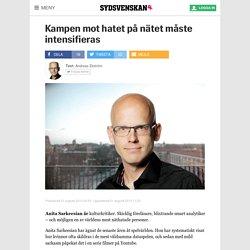 Kampen mot hatet på nätet måste intensifieras - Sydsvenskan