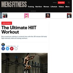 High Intensity Interval Exercise: Full-Body HIIT Workout