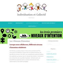 Les 3 Niveaux d'Intention – Individuation et Collectif