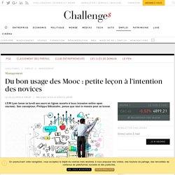 Du bon usage des Mooc : petite leçon à l'intention des novices - Challenges.fr