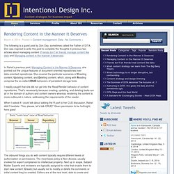 Intentional Design Inc.