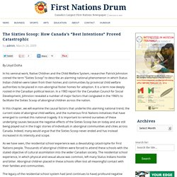the sixties scoop in canada essay