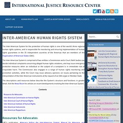 Inter-American Human Rights System