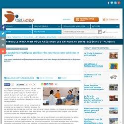 Un module interactif pour améliorer les entretiens entre médecins et patients