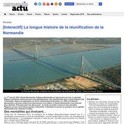 [Interactif] La longue histoire de la réunification de la Normandie [frise]