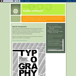 Spécial Typographie