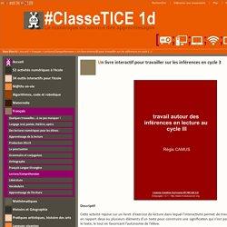 Un livre interactif pour travailler sur les inférences en cycle 3