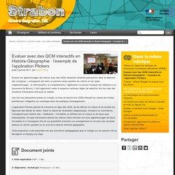 Evaluer avec des QCM interactifs en Histoire-Géographie : l'exemple de l'application Plickers