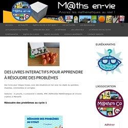 Des livres interactifs pour apprendre à résoudre des problèmes – M@ths en-vie