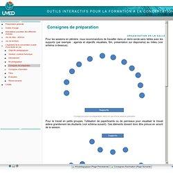 Outils interactifs pour la formation à la concertation - Consignes de préparation