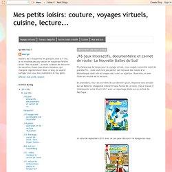 couture, voyages virtuels, cuisine, lecture...: J16 jeux interactifs, documentaire et carnet de route: La Nouvelle Galles du Sud