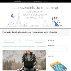 7 templates d'onglets interactifs pour votre prochain projet e-learning