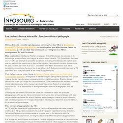 Les tableaux blancs interactifs : fonctionnalités et pédagogie