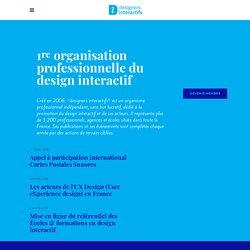 designers interactifs › Le design interactif › Définition