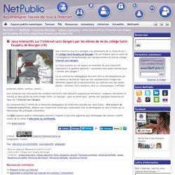 Jeux interactifs sur l'Internet sans dangers par les élèves de 4e du collège Saint-Exupéry de Bourges (18)